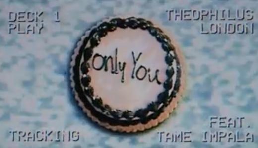 """ディスコとサイケ Theophilus London(セオフィラス・ロンドン) feat. Tame Impala """"Only You"""""""