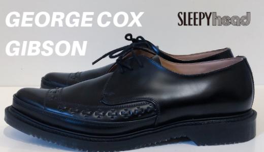ファッションにパンクの精神を。「GEORGE COX(ジョージコックス) GIBSON BLACK RUBBER SOLE」