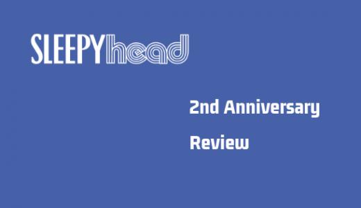 Sleepyhead Blogが開設2周年を迎えました